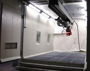 Robotstyrt blåserom