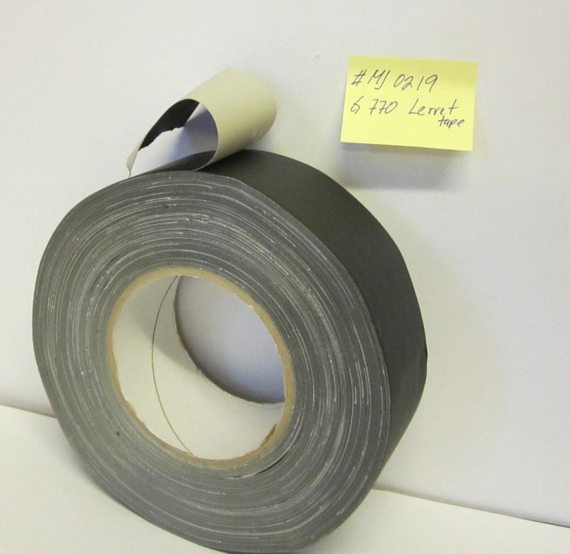 Lerret tape MJ 0219 G770 sort, hvit, sø